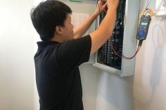 การตรวจสอบการติดตั้งตู้ตู้คอนซูมเมอร์ยูนิต-1